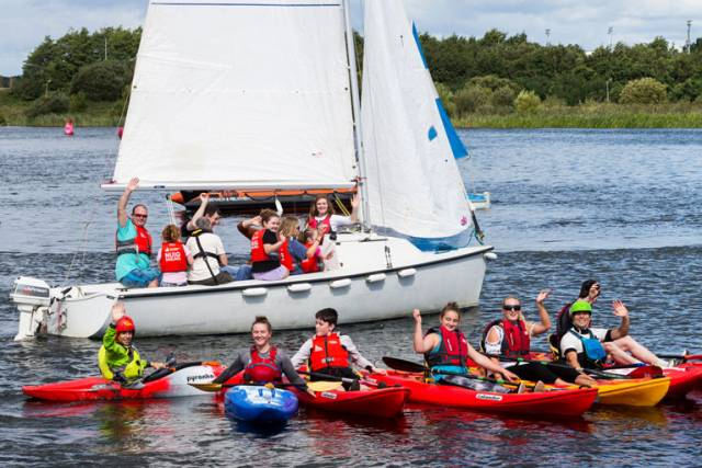 Canoeing and Sailing at the Inclusion Awards in Galway