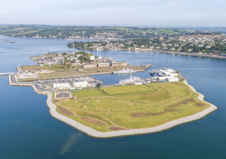 The gates to Haulbowline Island Amenity Park open Friday 15 January at 9am