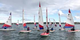 The Junior Icebreaker at Ballyholme Yacht Club on Belfast Lough