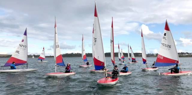 Ballyholme Yacht Club's Junior Icebreaker Series Goes Afloat