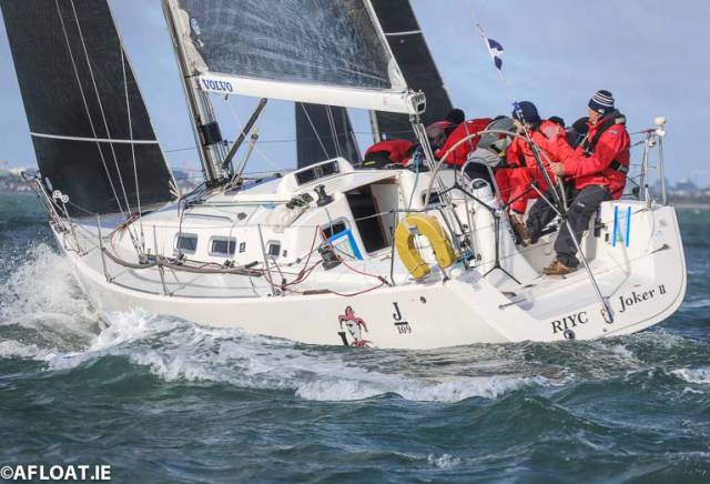 John Maybury's national champion winning J109 Joker II is one of six to contest Sunday's DBSC Turkey Shoot on Dublin Bay