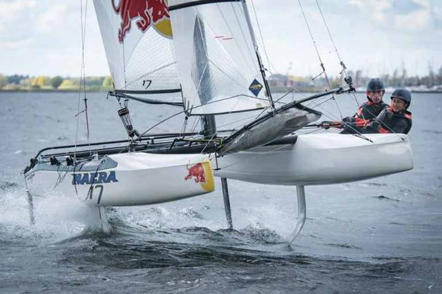 The foiling Nacra 17