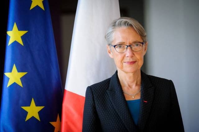 French Minister for Transport Elisabeth Borne