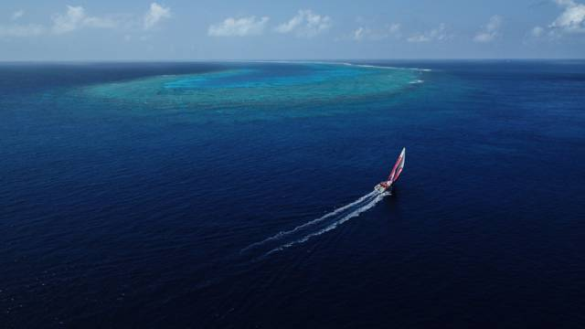 Dongfeng Race Team sailing on Day 17 of Leg 6