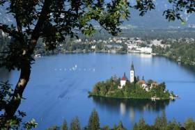 The course at Bled, Slovenia.