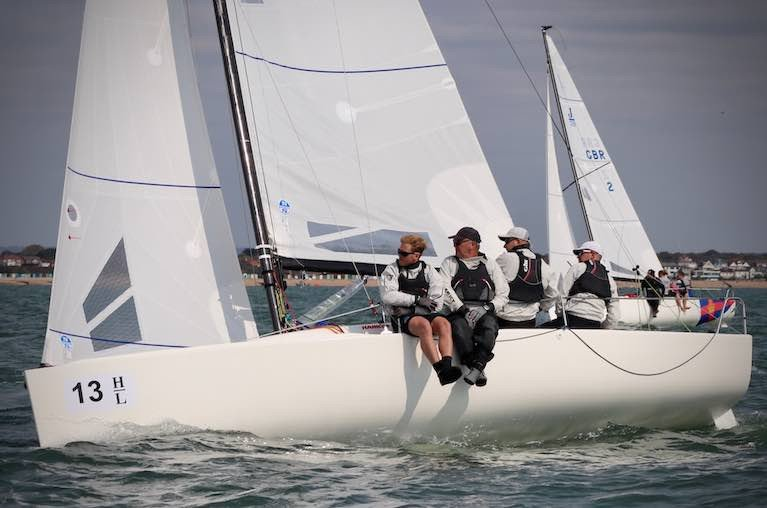 Marshall King & Ian Wilson's Soak Racing is the reigning J/70 Corinthian World Champion and at this regatta, defending the national championship