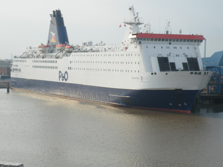 Ferry Owner of P&O from Dubai Say UK Government 'Slow' over Threat to Supply Routes