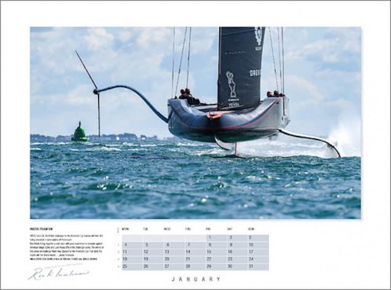 Photographer Rick Tomlinson's Portfolio Calendar 2021 is Out Now!