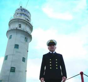 Former Fastnet lighthouse keeper Gerald Butler