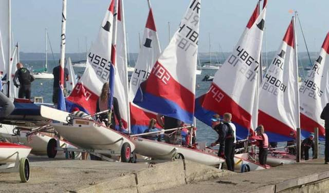 The Topper fleet at the 30th RYANI Youth Championships this September