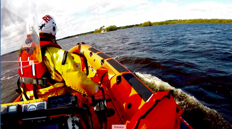 Lough Derg RNLI carry out the first of two rescue of the lake