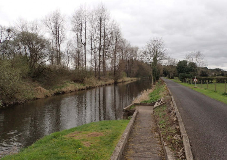 The Movanagher Canal on the Lower Bann