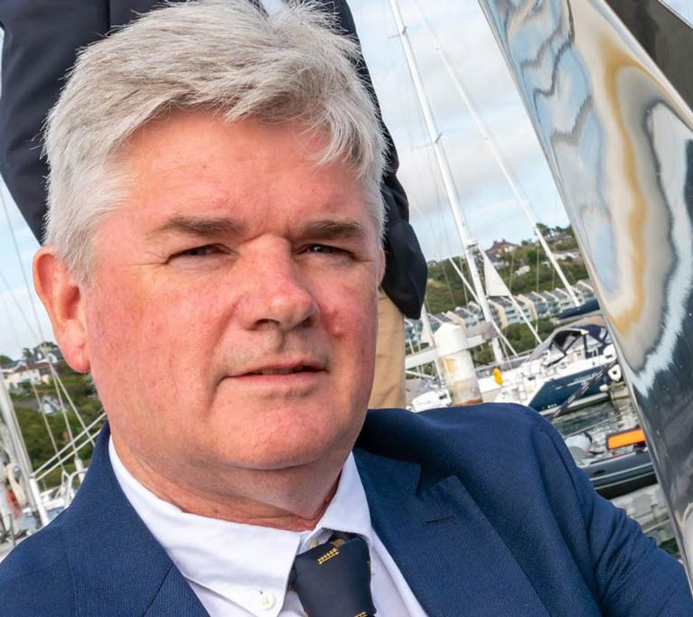 Sovereign's Cup Regatta Director Anthony O'Neill