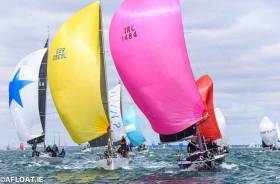 Summertime on Dublin Bay. In a season of very mixed weather, the biennial Volvo Dun Laoghaire Regatta managed its usual trick of finding a useful little bit of precious summer.