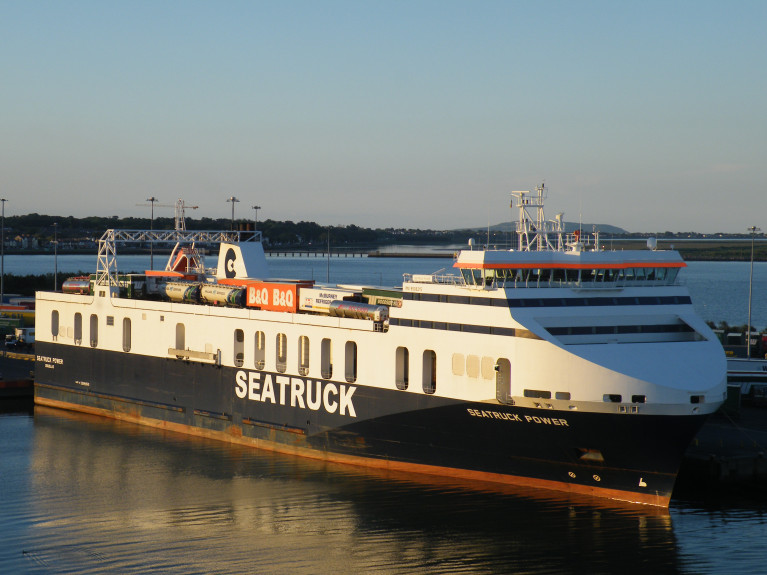 Seatruck's Sailings Increase On Dublin-Liverpool Route