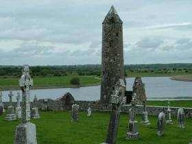 Offaly's Shannon Waterways boast many treasures including the religious, cultural & historically significant site of Clonmacnoise