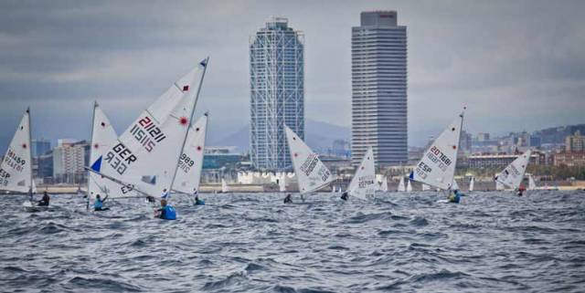 Two final races were completed In a strong thermal breeze which was a relief to the sailors after the light tricky conditions of the last few days