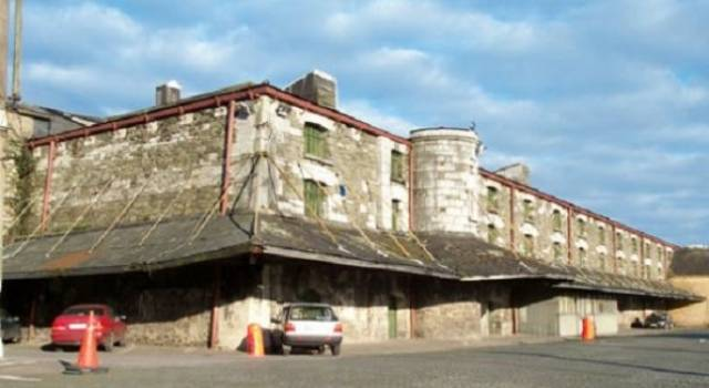 The historic Bonded Warehouses that form the Port of Cork HQ site in the city centre
