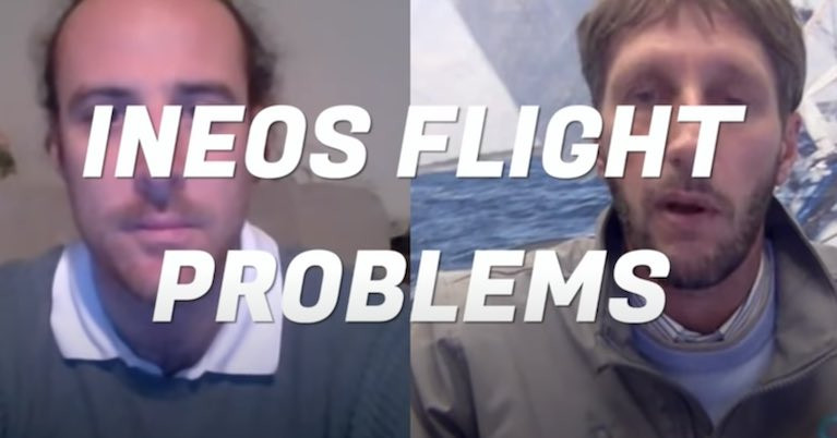 Team INEOS UK Flight Problems - Is it the Foil Angle?