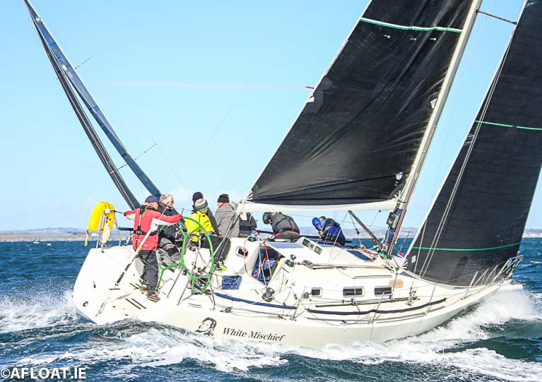 Tim and Richard Goodbody's J109 White Mischief was the Thursday IRC winner in DBSC Cruisers One division