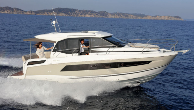 The new Jeanneau NC 33 will be available from Irish agents MGM Boats