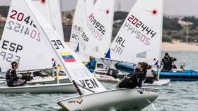 Eight Irish Laser Radial sailors are competing in Cadiz this week at the Andalusian Olympic Sailing Week