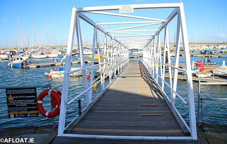 Marinas open to berth holders on Monday as part of the Government's easing of COVID-19 restrictions