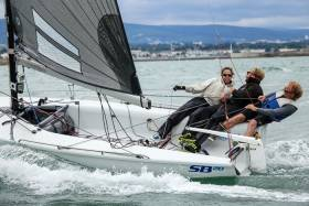 Ger Dempsey's SB20 competing in today's Teng Tools Royal Irish Regatta. Scroll down for photo gallery