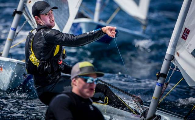 Lynch Lying Mid Fleet in Laser, Tidey In the Zone for a Medal in Hyeres