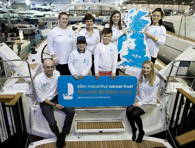 Dame Ellen MacArthur announced a Round Britain Challenge today at the London Boat Show