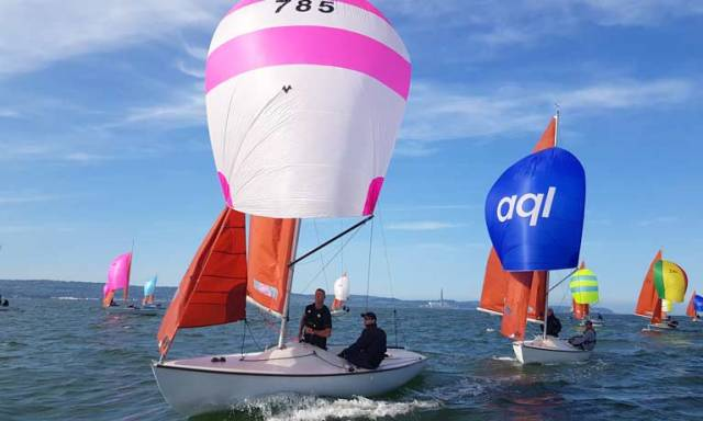 Lough Derg Yacht Club Expects Record Entry from Squibs, Flying Fifteens & SB20s for Freshwater Championships
