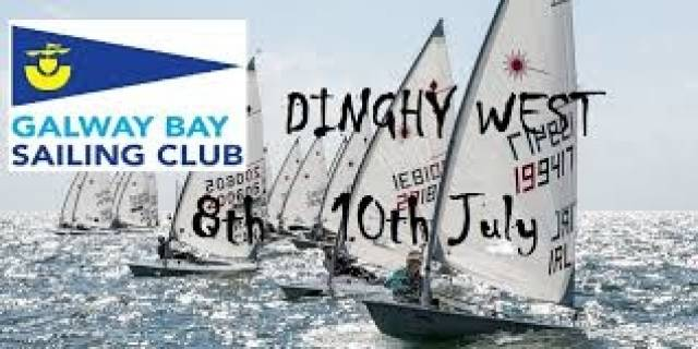 West Is Best For Dinghies at Galway Bay Sailing Club