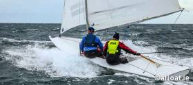Six short races are scheduled as a two-race mini-series for the Flying Fifteens on Dublin Bay