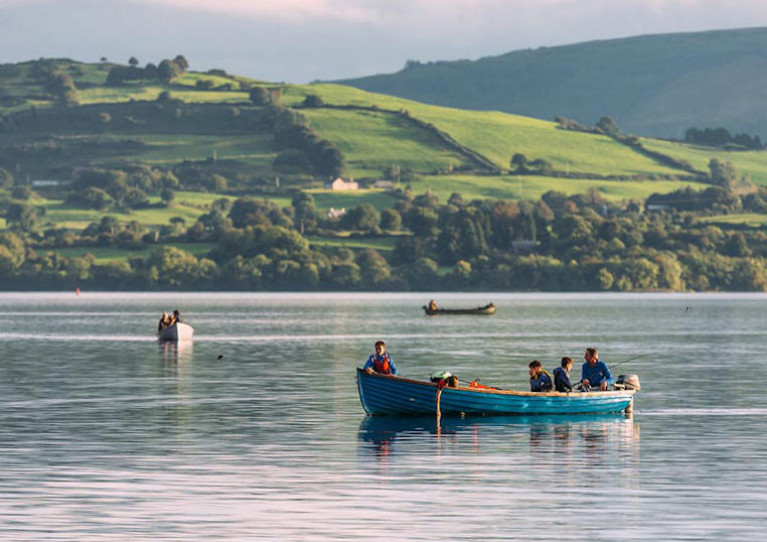 Lough Derg as seen near Mountshannon