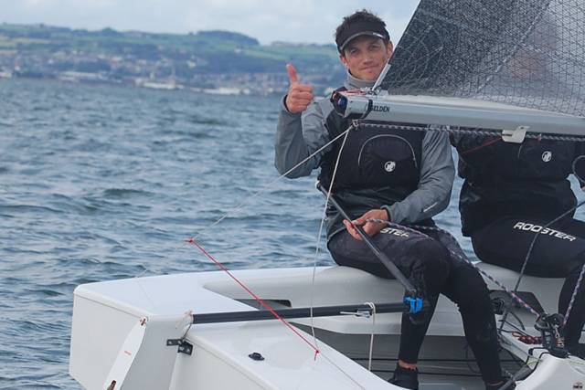 GP14 world champion Shane MacCarthy is one of two GP14 helmsmen to decline this weekend's All Ireland Sailing Championships at Royal Cork Yacht Club