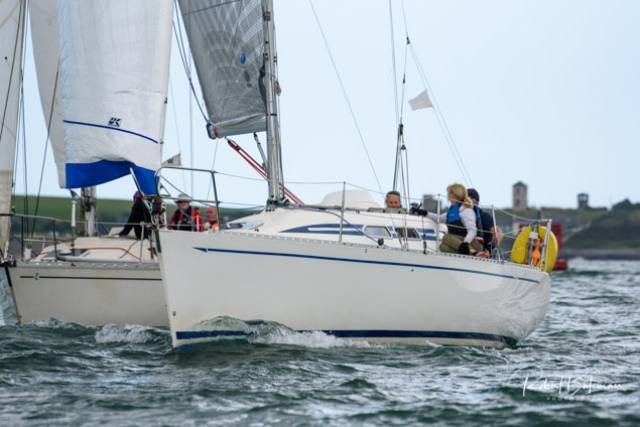 Nine yachts entered last weekend's Monkstown Bay Sailing Club's Cruiser Class race