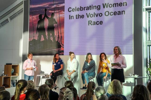 Celebrating Inspirational Female Volvo Ocean Race Sailors On International Women's Day