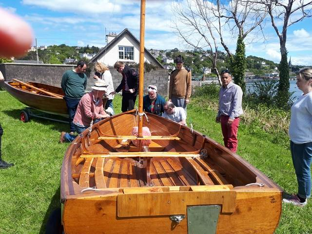 Rankin Dinghies Keeping Traditional Sailing in Cork Harbour