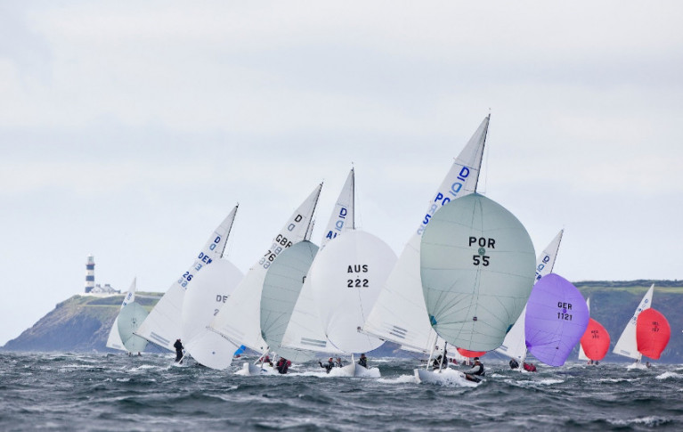 Dragon racing at Kinsale Yacht Club