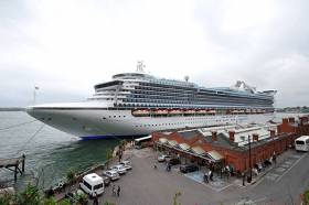 MV Caribbean Princess – she will call 10 times in 2016