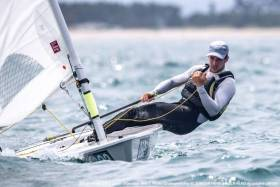 Finn Lynch - a strong finish to the Laser World Championships in Japan is required from Lynch to keep him in the mix for Olympic qualification next year