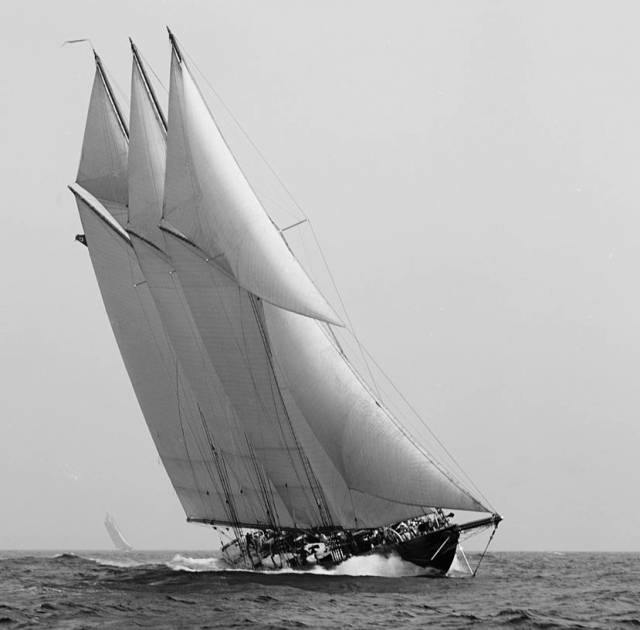 The original 1903-built schooner Atlantic, one of the most admired vessels of her era