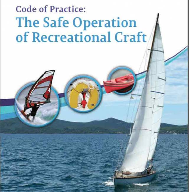 New Code of Practice for the Safe Operation of Recreational Craft