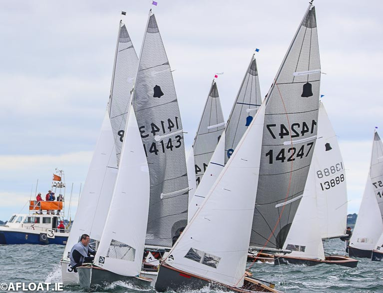 The GP14s will race in Skerries in July 2021