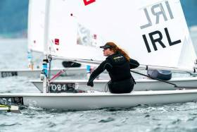 Aisling Keller lies 40th in the Laser Radial class in Japan