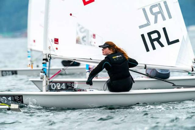 Ireland's First Tokyo 2020 Berth Looms Large in Women's Laser Radial Class