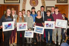 Junior RCYC prizewinners. Scroll down for photo gallery