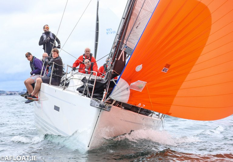 George Sisk's XP44 WOW from the Royal Irish Yacht Club was the Viking Marine ISORA Coastal Race winner