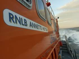 Castletownbere RNLI's all-weather lifeboat Annette Hutton