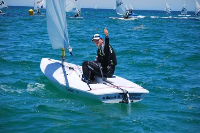 Johnny Durcan pictured at January's Australian Youth Nationals in Adelaide